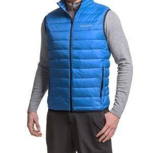 Columbia Men's blue Elm Ridge vest sz 2X
